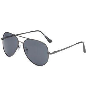 Last 2!! Black Unisex Aviator Sunglasses
